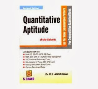 Quantitative Aptitude By R.S. Aggarwal worth Rs.500 for Rs.280 Only (Including Shipping)