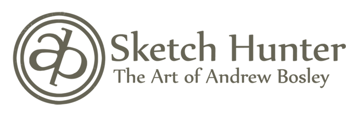 Sketch Hunter: The Art of Andrew Bosley