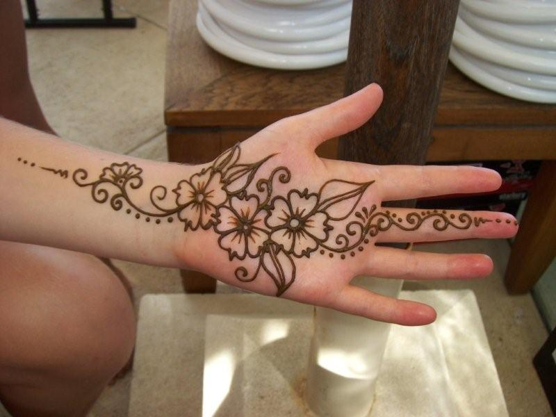 Henna Tattoos Designs On Hands  Tattoo Lawas