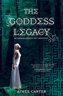 Review: The Goddess Legacy by Amimée Carter (Goddess Test #2.5)