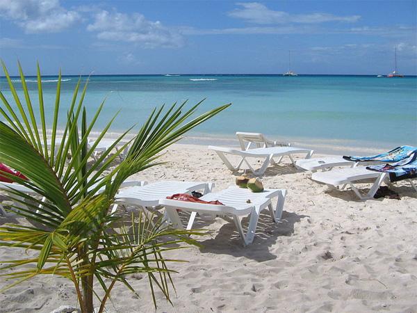 Karibik Traumstrand auf Saona Island