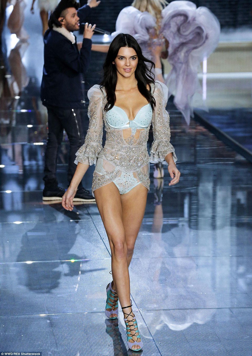 Kendall stuns at the Victoria's Secret Fashion Show 2015