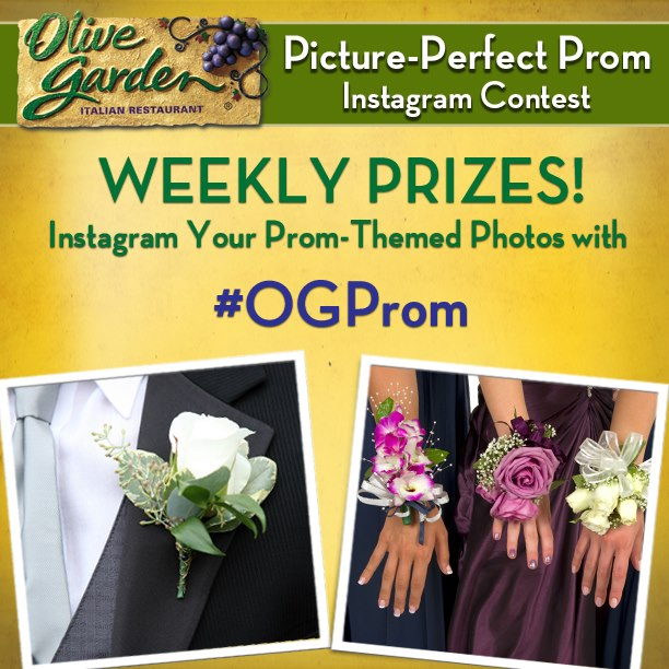 It S Prom Season Consider Olive Garden For The Big Night Wee Share
