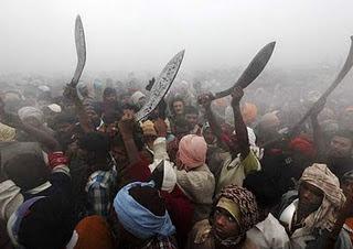 Jangan tengok kalau tak tahan tengok gambar yang ngeri | Pesta Pancung Kepala Paling Zalim di Nepal
