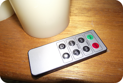 remote for candles