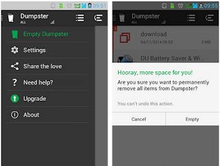Tips: Cara Mudah Membuat Recycle Bin di Android