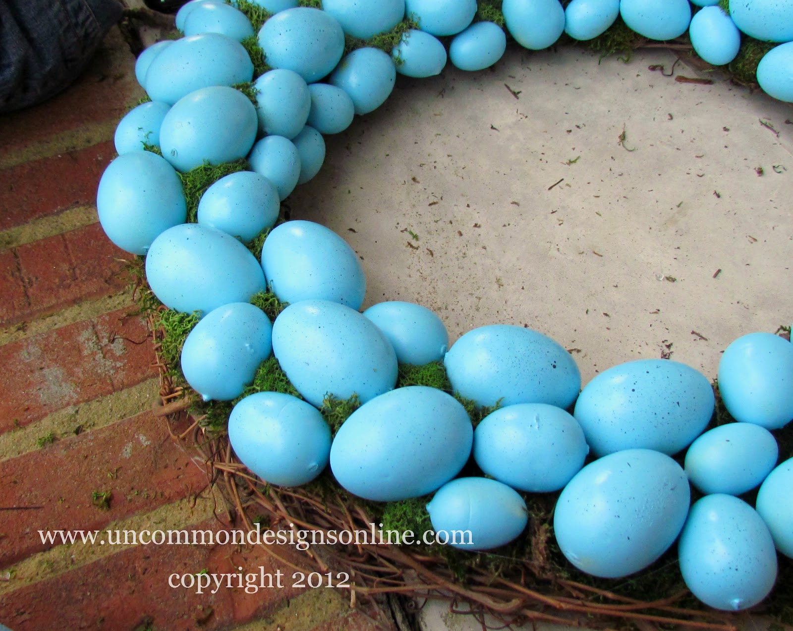 robinu0027s egg blue easter wreath easter decorating idea