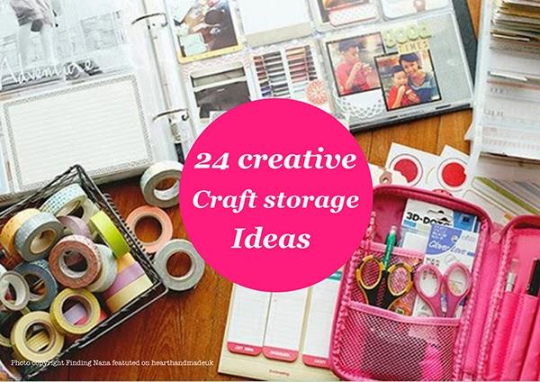 Creative Craft Room Storage Ideas 600 x 424