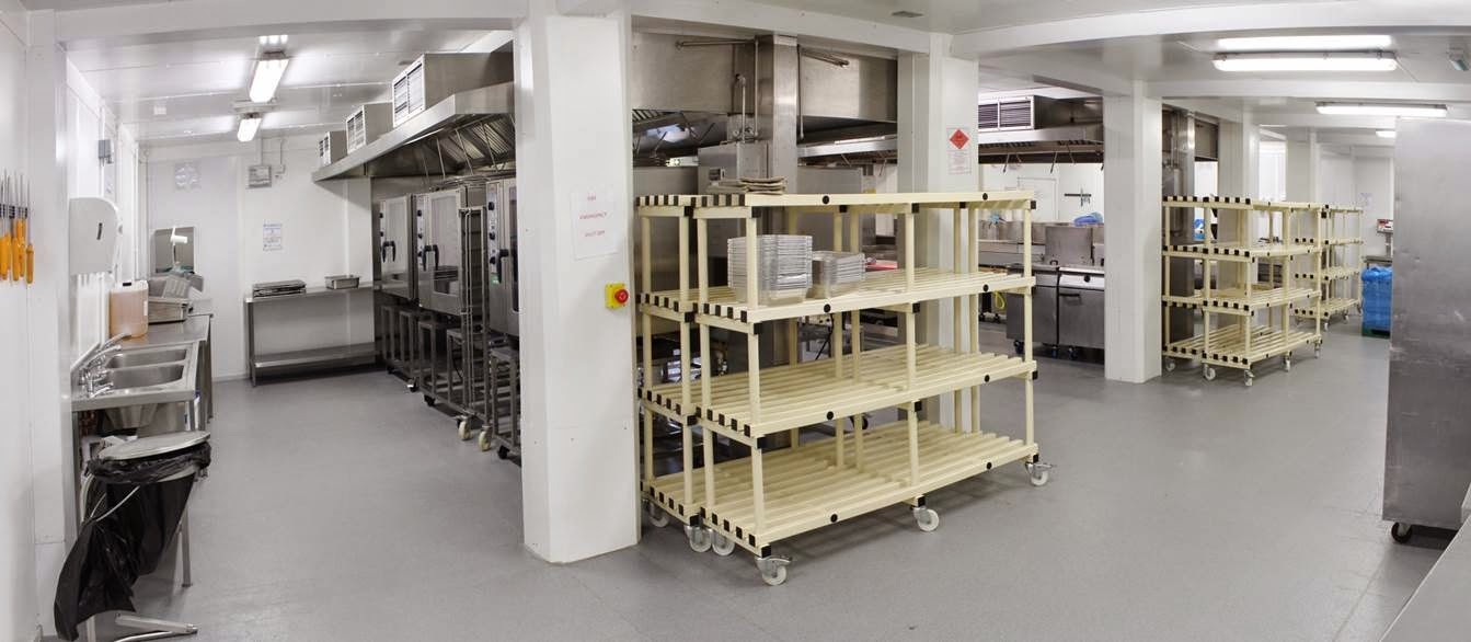 PKL temporary kitchens for food manufacturers