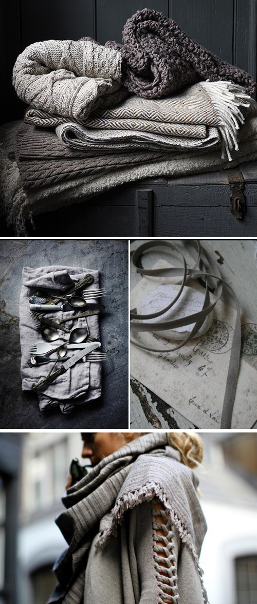 gray inspiration board