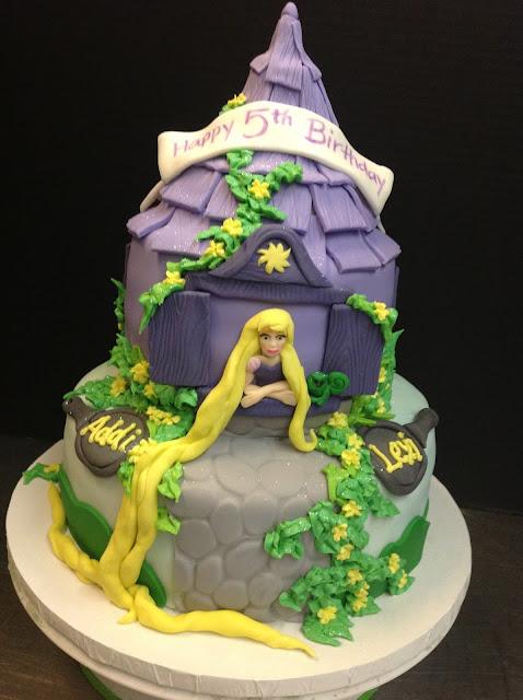 Plumeria Cake Studio Rapunzel Cake