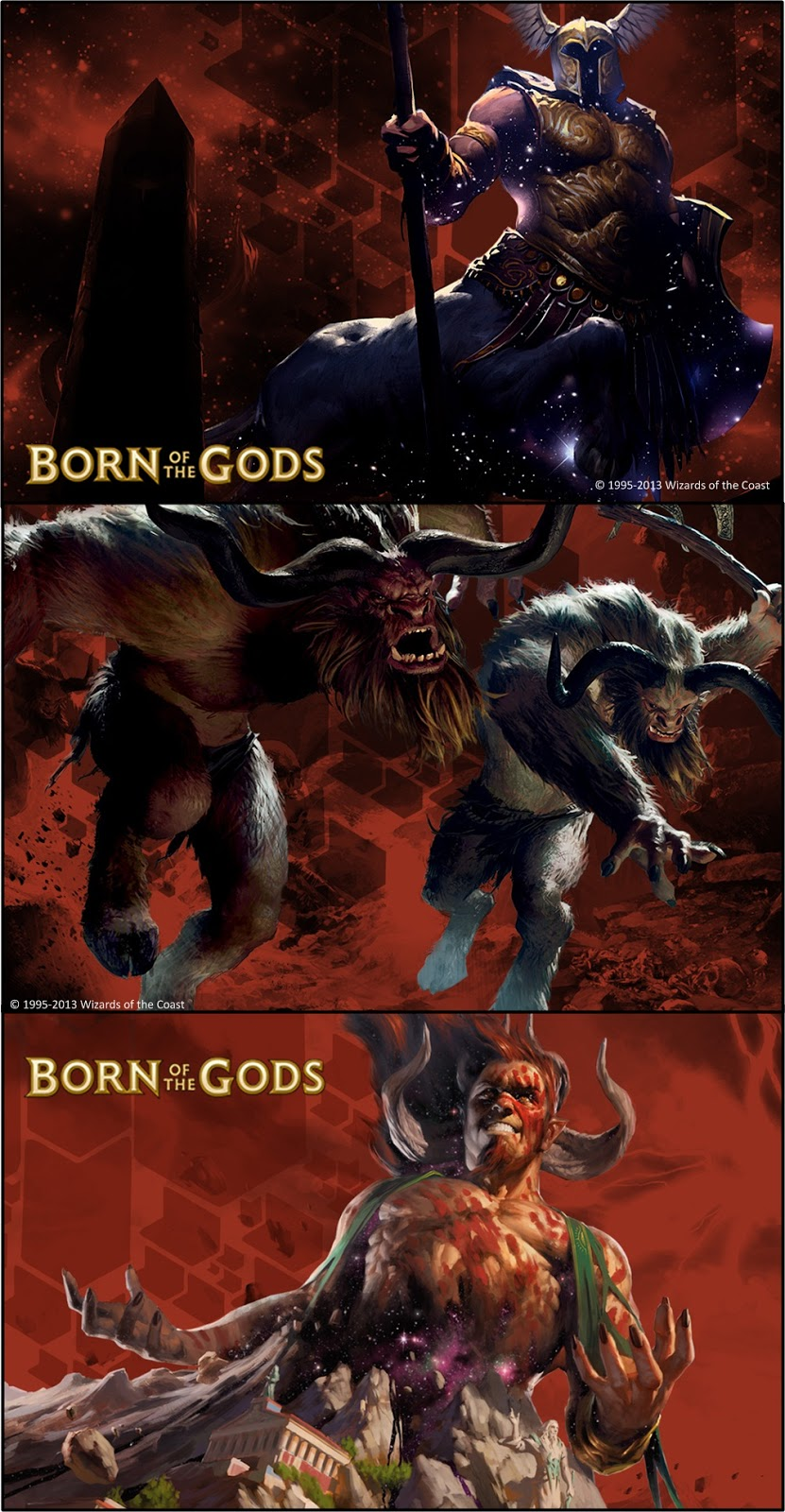 Born of the gods art