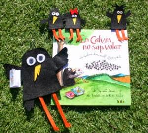 Portada llibre  infantil En Calvin no sap volar