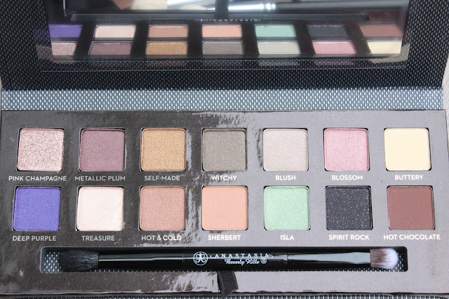 Anastasia Beverly Hills Self-Made Palette Review & Swatches
