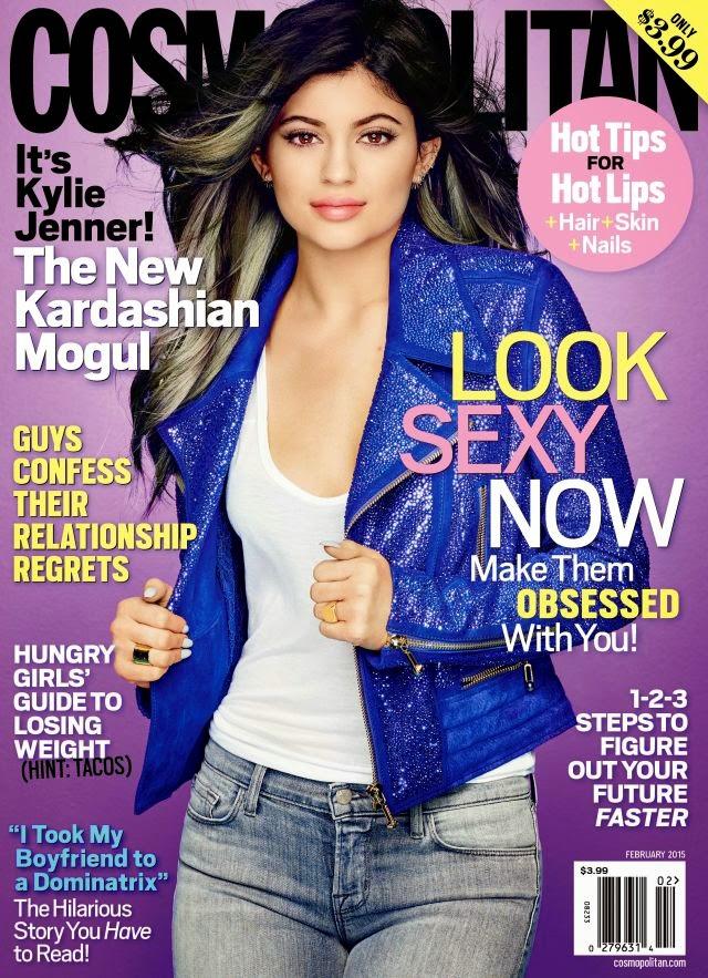 Kylie Jenner - Cosmopolitan, US, February 2015