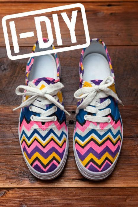 Hazlo tú mismo : Como renovar tus viejas zapatillas
