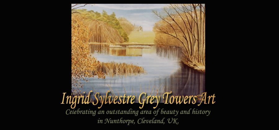 Ingrid Sylvestre Grey Towers Art