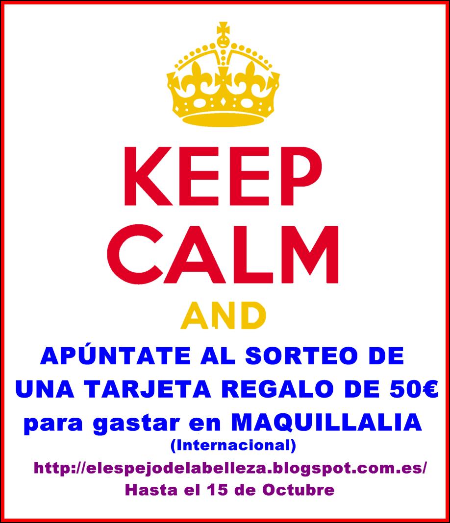 Sorteo Internacional Tarjeta Regalo 50€ para gastar en Maquillalia!!.