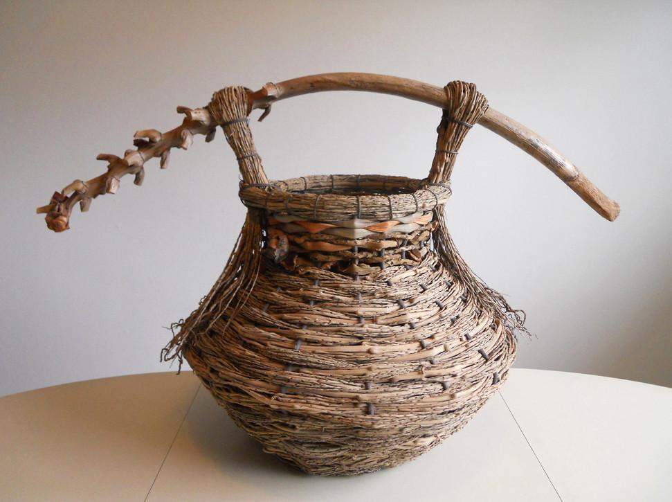 Basket Art By Samuel Yao : Contemporary basketry palm