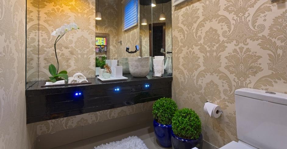 decoracao no lavabo:30 Lavabos pequenos e modernos – veja dicas de como ousar e decorar