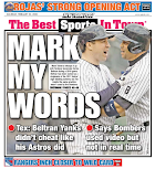Yanks, cheats, share back page