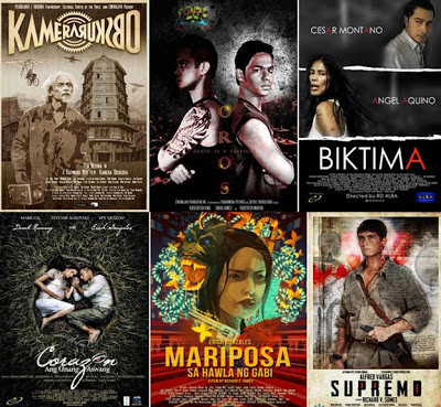 Make Me Blush: 2012 Philippine Movie Report - A Rundown of All