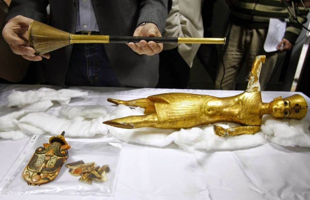 Egyptian embassy managed to restore 17 stolen artifacts from Australia
