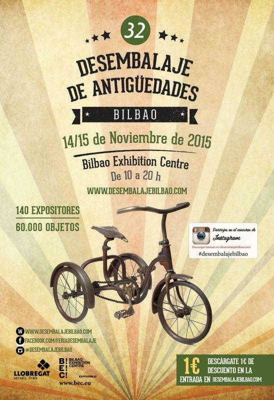 desembalaje antigüedades Bilbao noviembre 2015