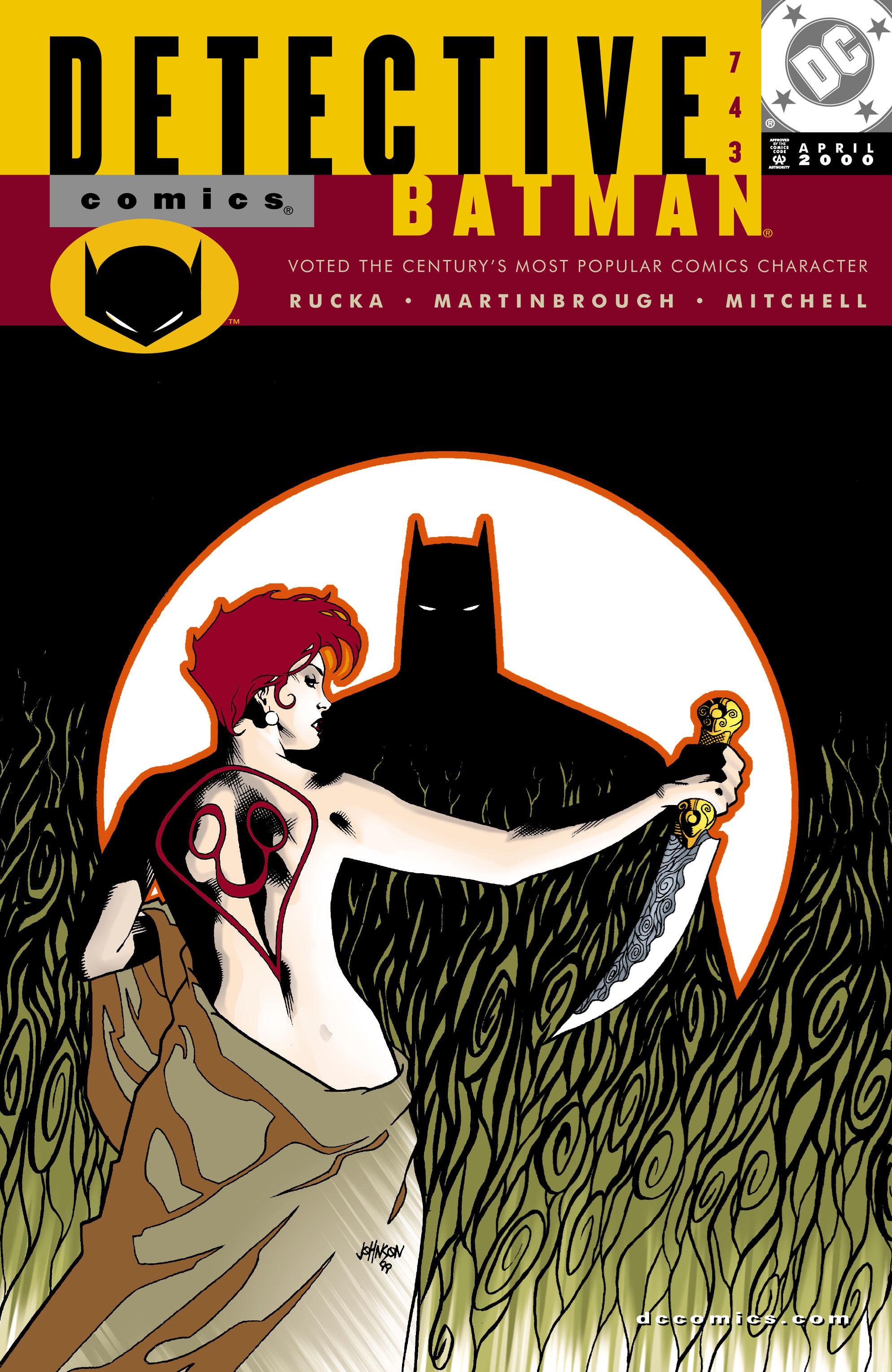 Detective Comics (1937) 743 Page 1