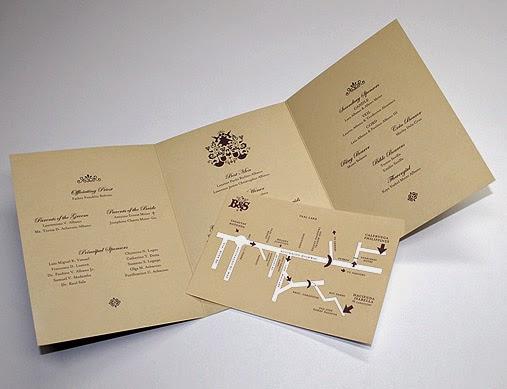 creativas tarjetas de invitaciones de bodas : diseños