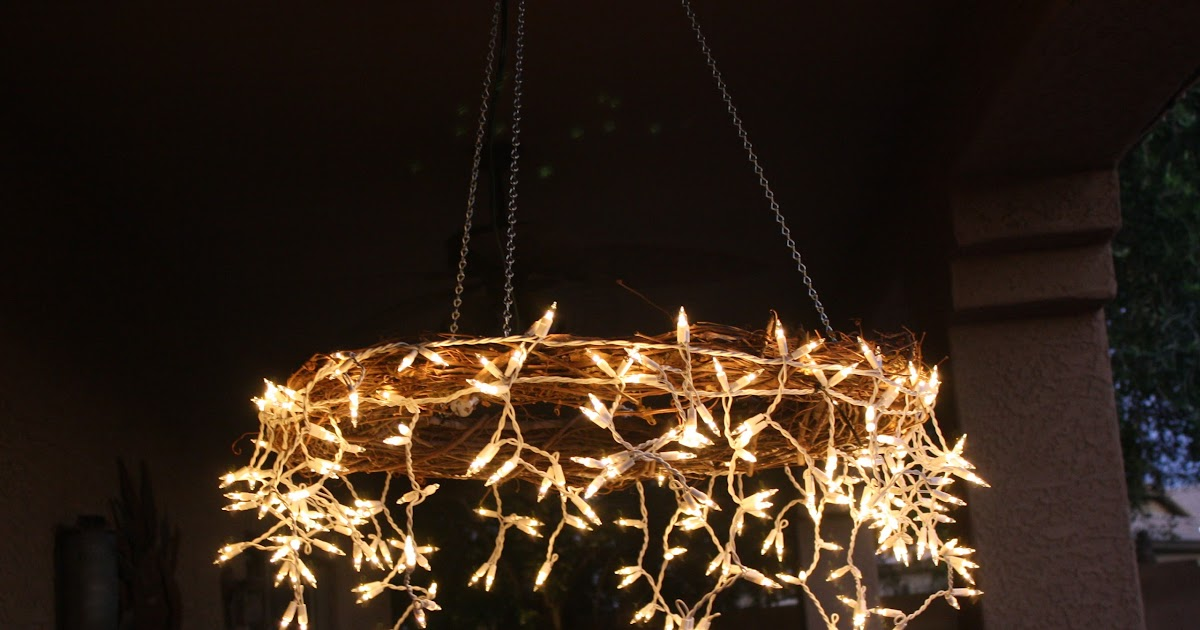 the project table diy icicle chandelier. Black Bedroom Furniture Sets. Home Design Ideas