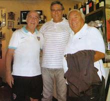 Madurga y Maddoni con Osvaldo