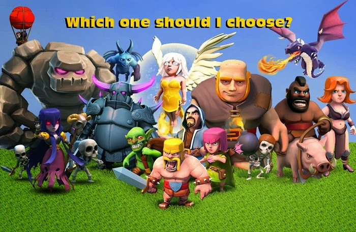 Komposisi Pasukan Clash of Clans