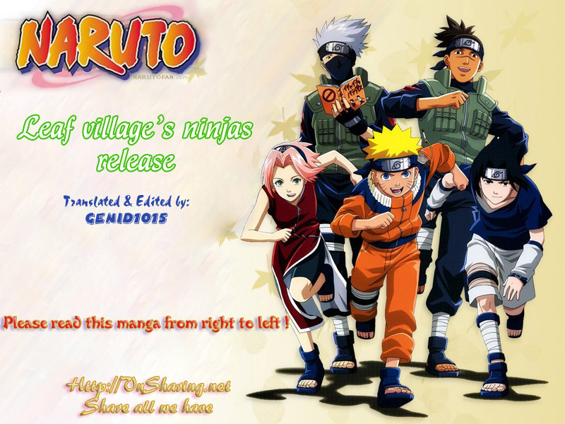Naruto chap 445 Trang 1 - Mangak.info