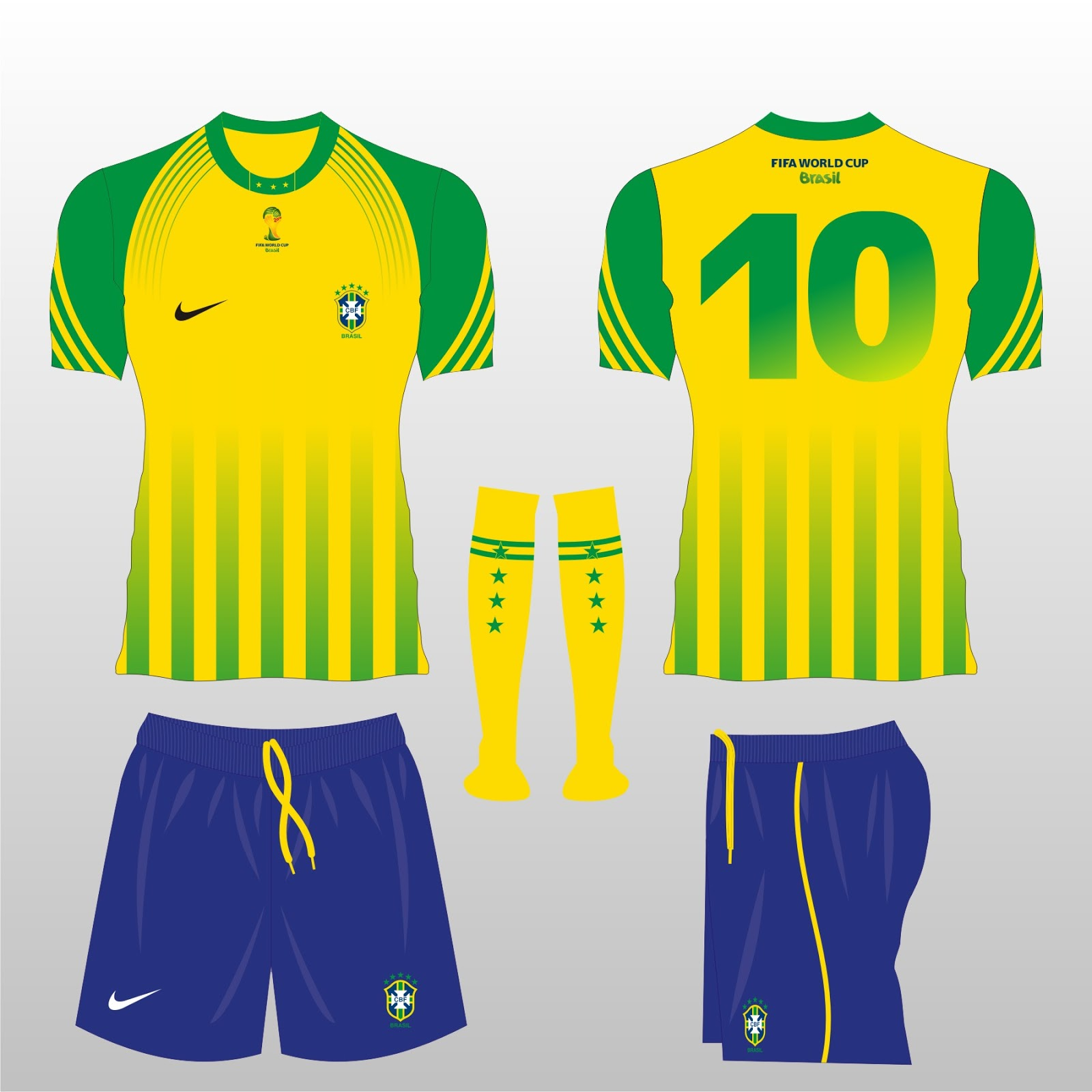 Football Kit Design Master Brasil Purposed Football Kit Design Wc2014
