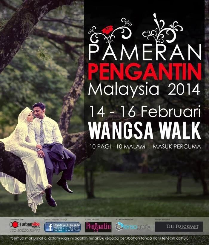 Pameran pengantin Malaysia 2014