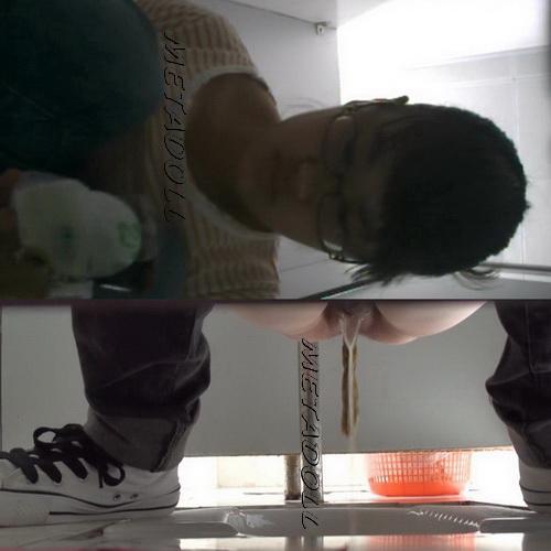 College girls pooping hidden toilet cam (Chinavoyeur Shit Toilet 13)