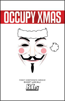 mathew highland, matt highland, occupy xmas, santa