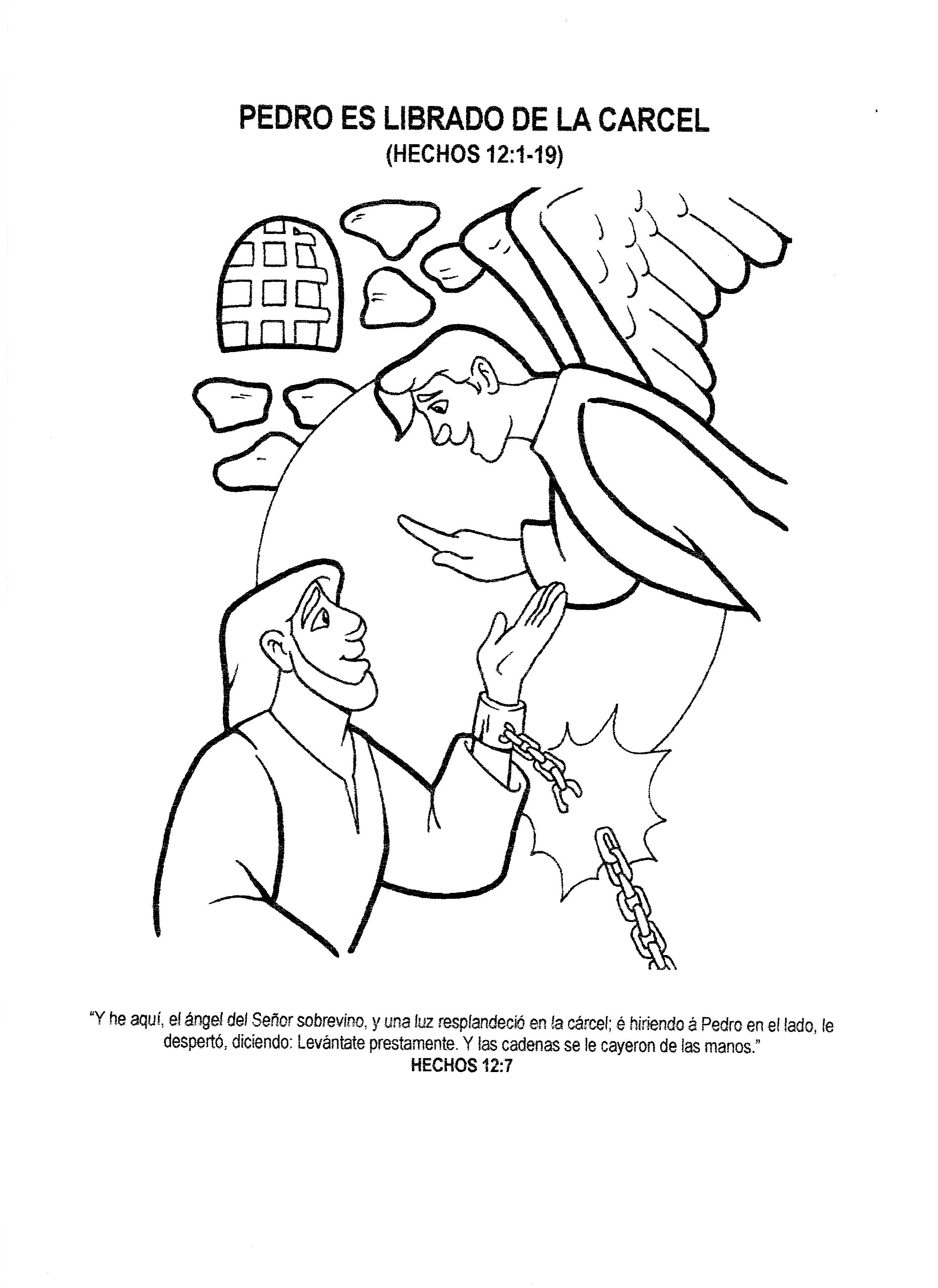 paginas para colorear para ninos cristianos