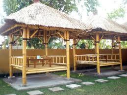Produk kerajinan bambu