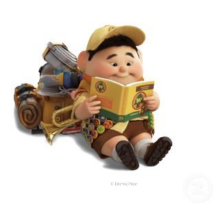 Disney pixar up papercraft quot russell quot boys