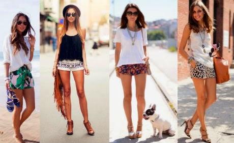 Shorts estampados verano
