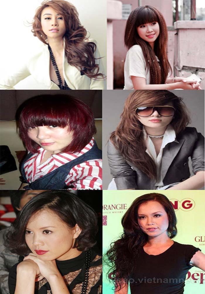 HCM - Dành cho các hot girl đang phân vân không biết chọn kiểu tóc ...