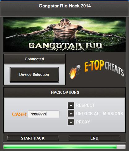 Gangstar Rio Hack