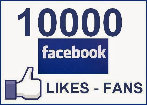 Get 10000 Facebook Page Likes