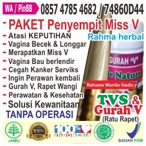 kontak Obat perapat / penyempit vagina