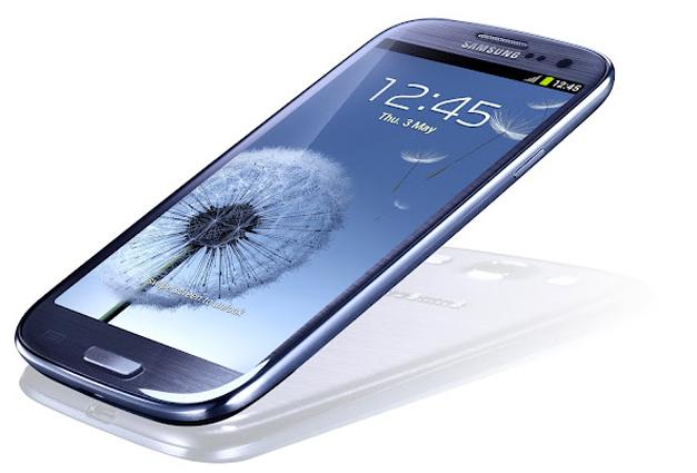 Samsung Galaxy SIII Experimento de Resistencia