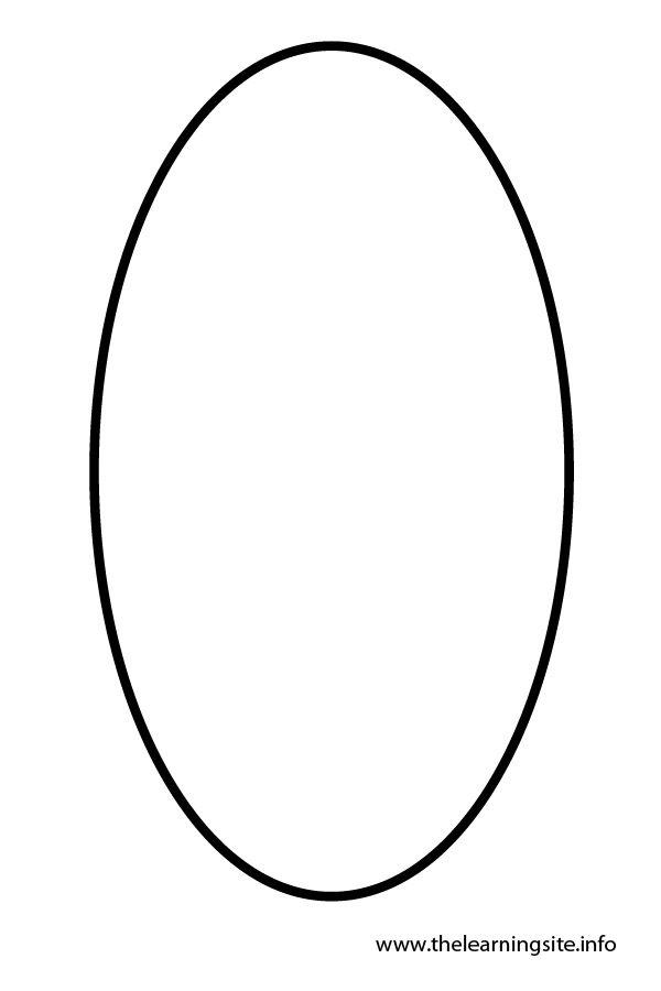 The Learning Site October 2011 Oval Coloring Page