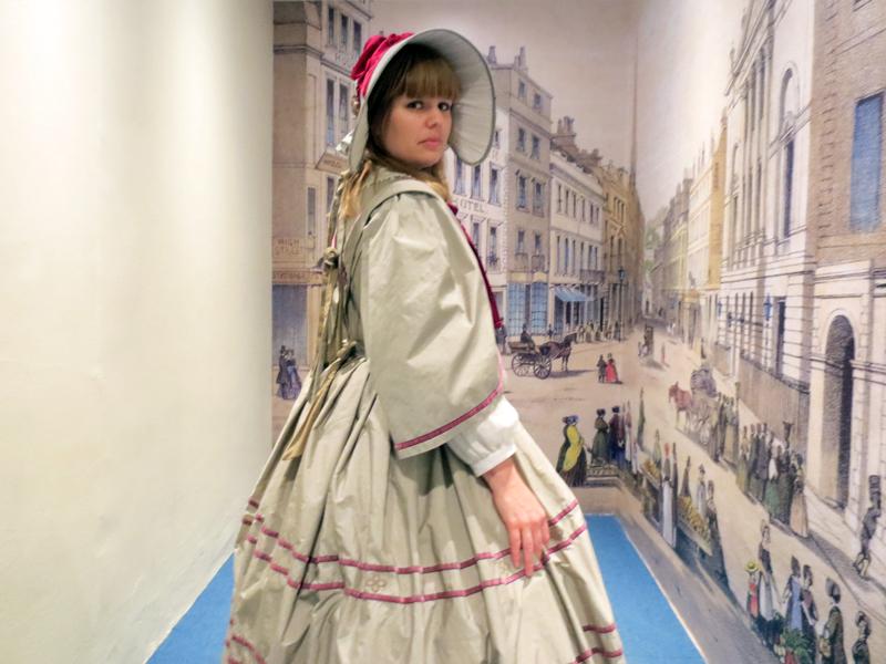 Bath Fashion Museum viktoriansk klänning