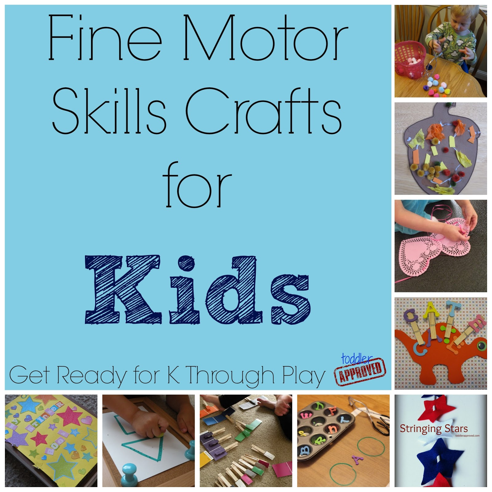 Toddler Approved Fine Motor Skills Crafts For Kids Get